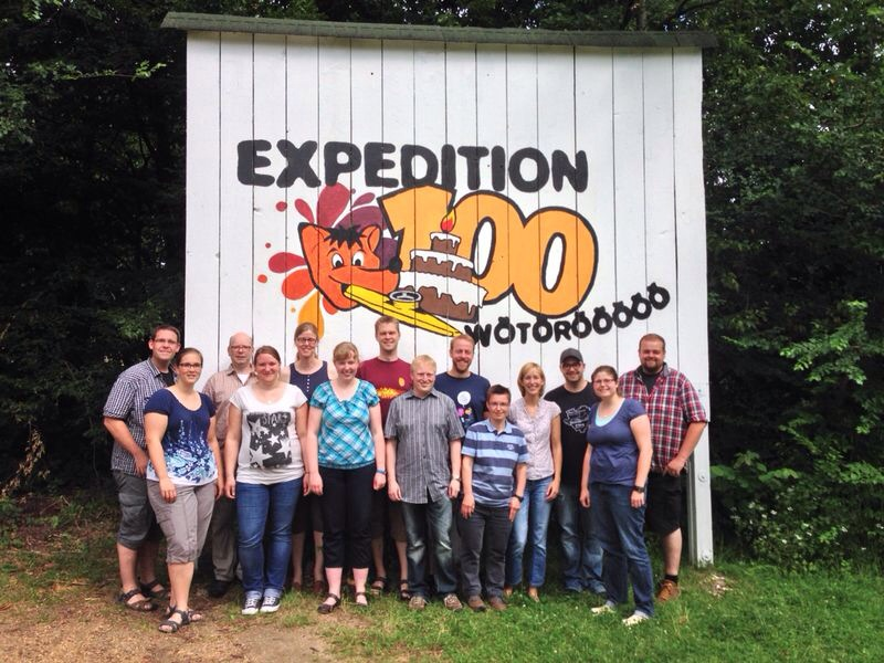 Expedition100_Vorbereitungsteam