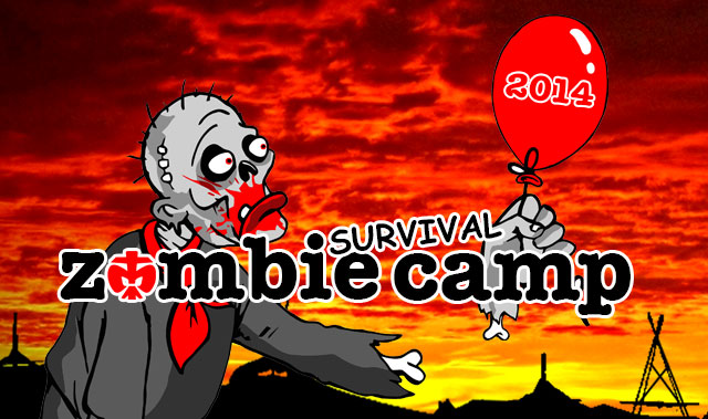 Rovercamp 2014 - Zombie survival Camp